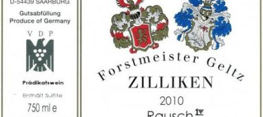 Rausch Spätlese Mosel 2003 Forstmeister Geltz-Zilliken