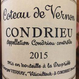 Georges Vernay Coteau de Vernon 2015