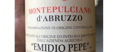 Emidio Pepe Montepulciano d'Abruzzo 2013