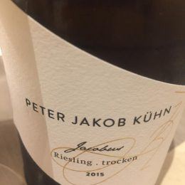Riesling Jacobus 2015 Peter Jakob Kühn