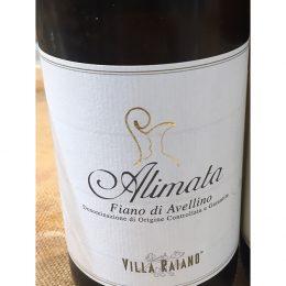 Alimata Fiano di Avellino 2015 Villa Raiano