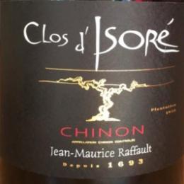 Clos d'Isoré 2015 Jean-Maurice Raffault