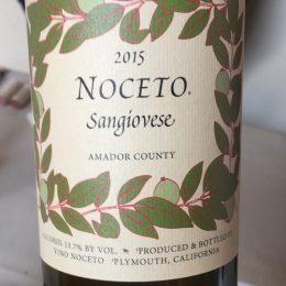 Sangiovese 2015 Vino Noceto