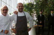 Lo chef Marco Sacco del Piccolo Lago al Piano35 di Torino