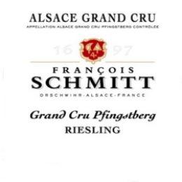 Riesling Grand Cru Pfingstberg Alsace 2016 François Schmitt