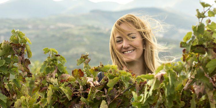 Carolin Martino, tra vino e cosmetici (a base di Aglianico)