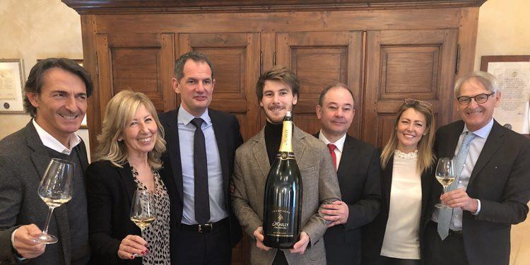 Marchesi di Barolo ha l'esclusiva per Champagne Mailly