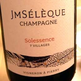 Cuvée Solessence J M Sélèque Champagne