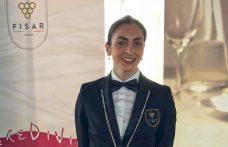 Carlotta Salvini Miglior sommelier d'Italia Fisar 2019