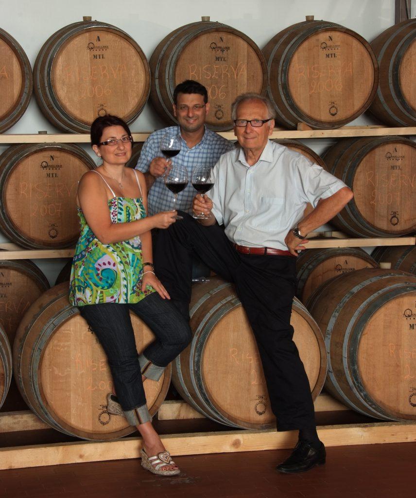 La famiglia Sanmarco valorizza l'autoctono Pepella