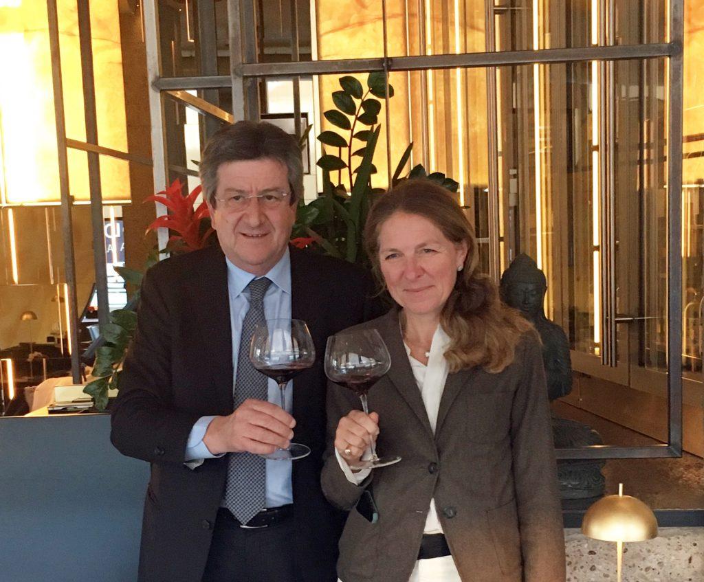Veronica e Francesco Passerin d'Entreves, proprietari di Dianella
