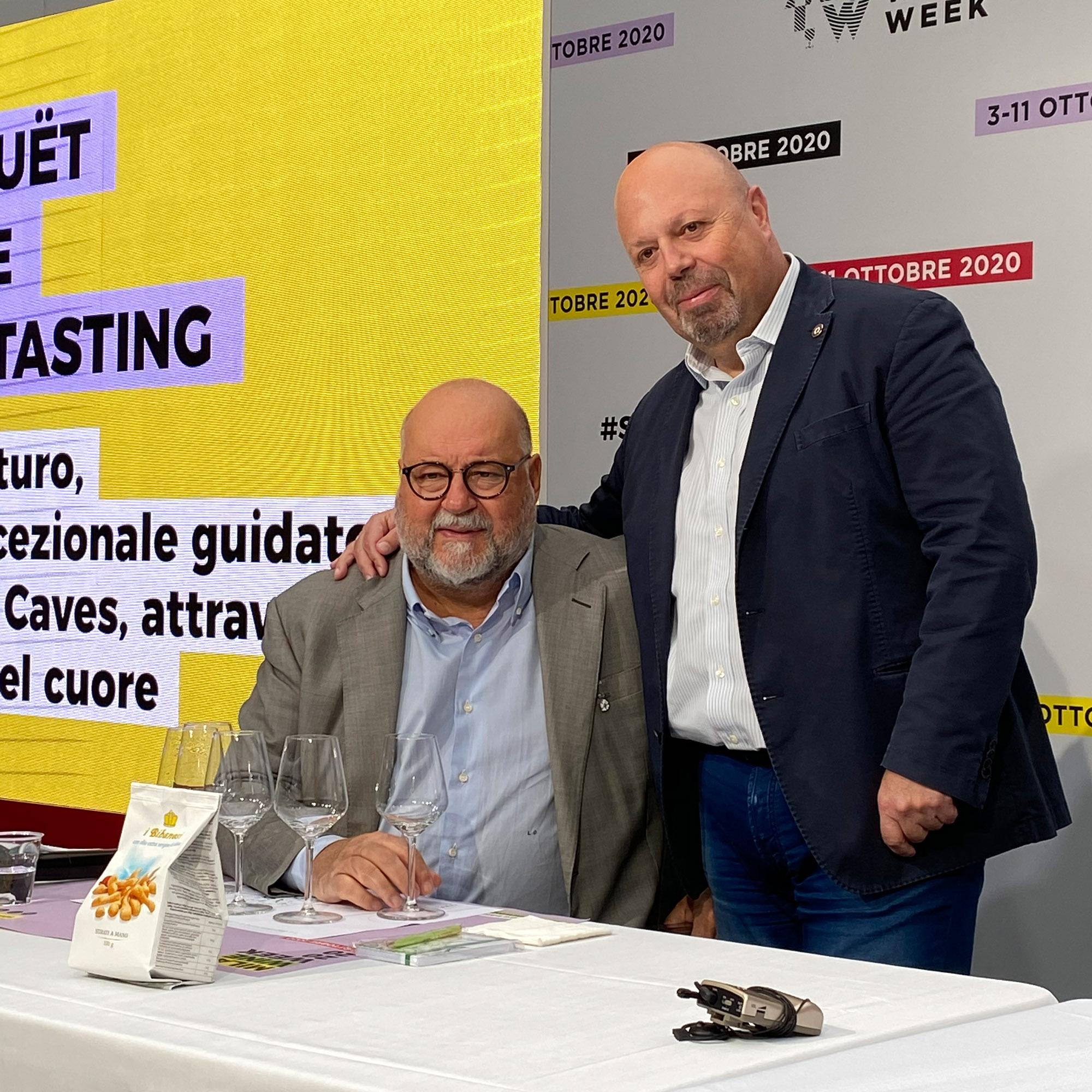 Da sinistra, Leo Damiani e Alberto Lupetti