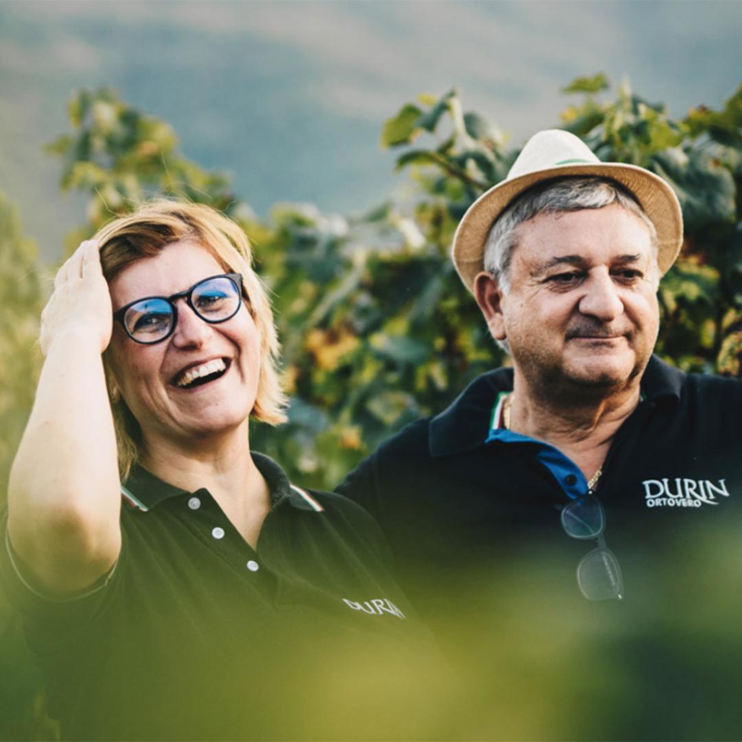 Antonio e Laura Basso di Durin possiedono 17 ettari tra le province di Savona e Imperia