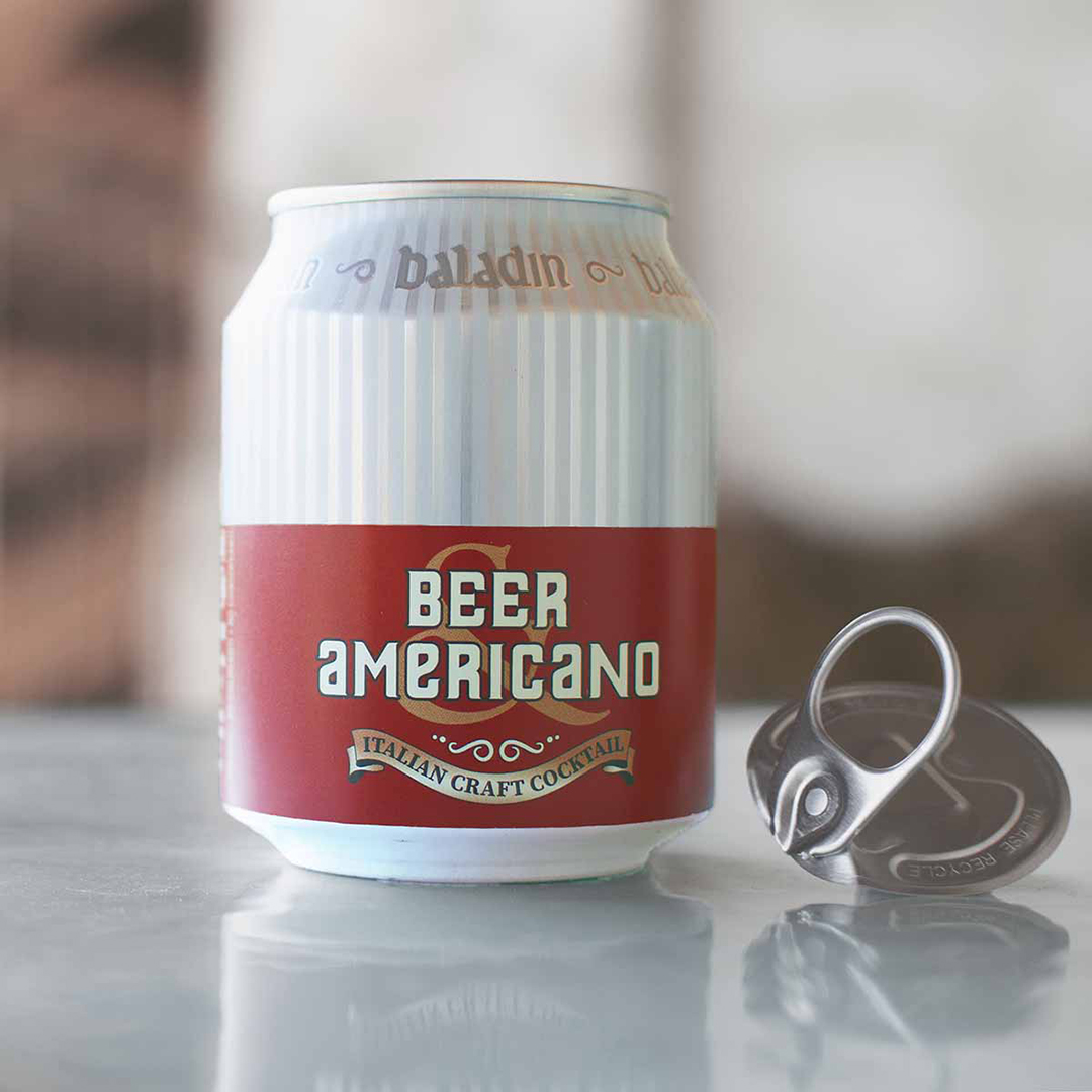 Cocktail in Lattina Baladin - Beer Americano con apertura 360® End