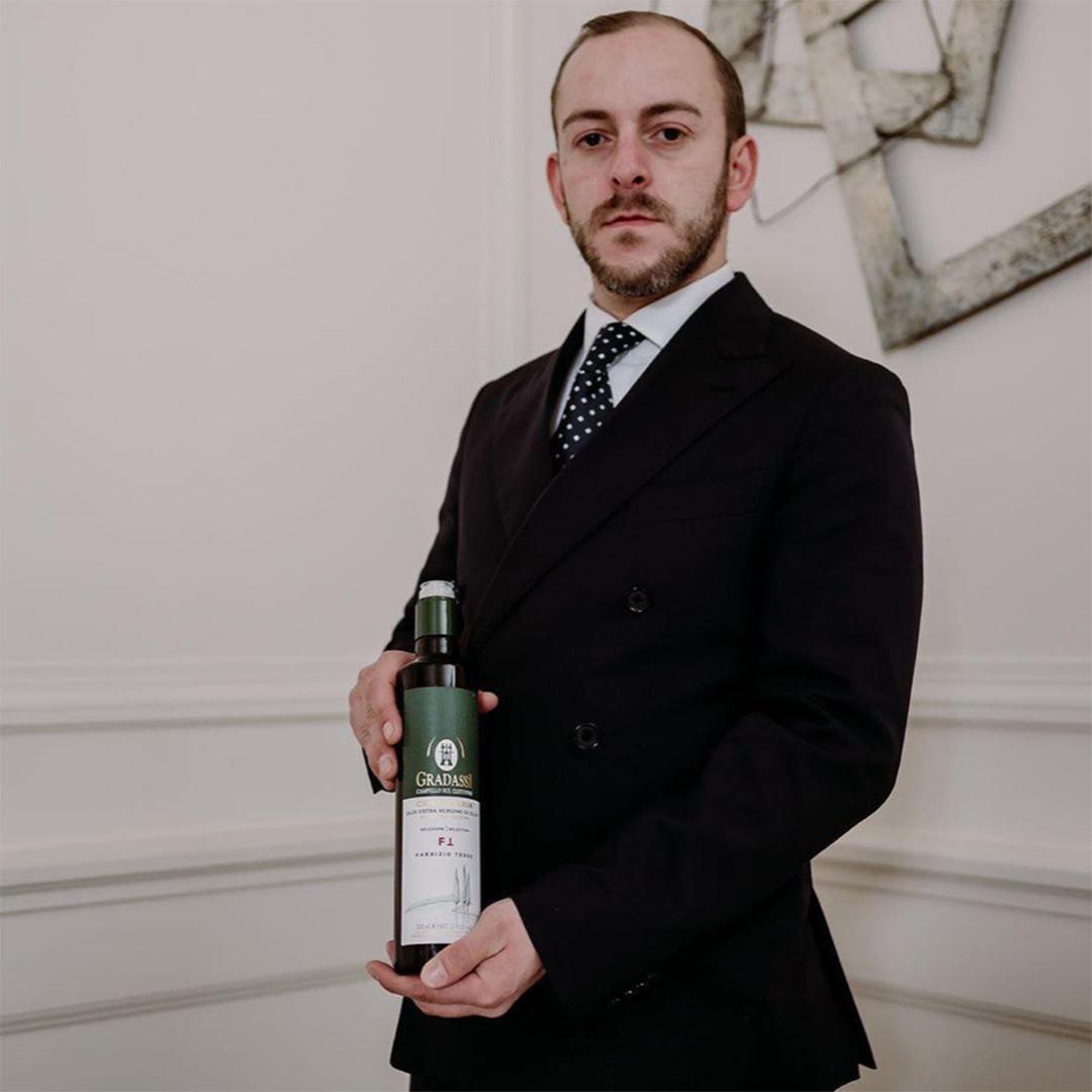 Nicola Matinata, restaurant manager al ristorante Carignano del Grand Hotel Sitea di Torino