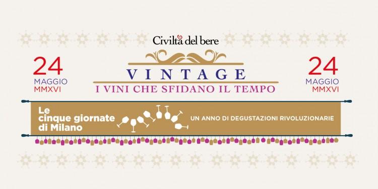 Vintage / 24 maggio. A Milano i vini che sfidano il tempo