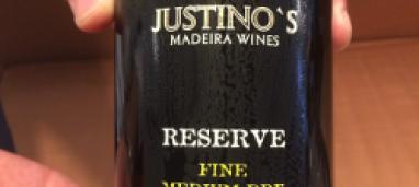 Madeira Justino's Reserve Fine Medium Dry 5 years old