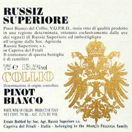 Pinot Bianco 2015 Russiz Superiore – Marco Felluga
