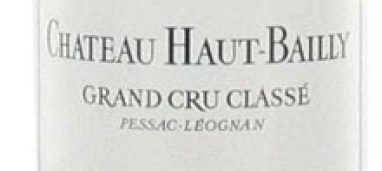 Pessac-Leognan Grand Cru Classé 2012 Château Haut-Bailly