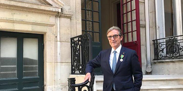 Riccardo Cotarella è Chevalier de l'Ordre du Mérite Agricole