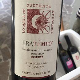 Sangiovese di Romagna Riserva FraTempo 2009 Casetta dei Frati