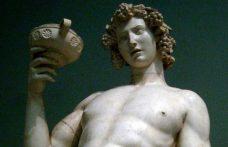 """La migrazione di Dioniso da rosso a """"imbrattato"""""""