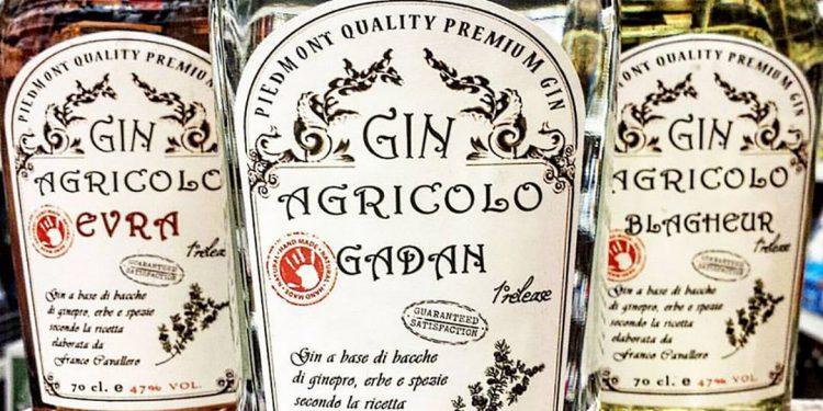 Il Gin Agricolo è made in Piemonte