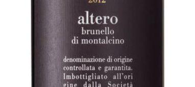 Brunello di Montalcino Altero 2012 Poggio Antico