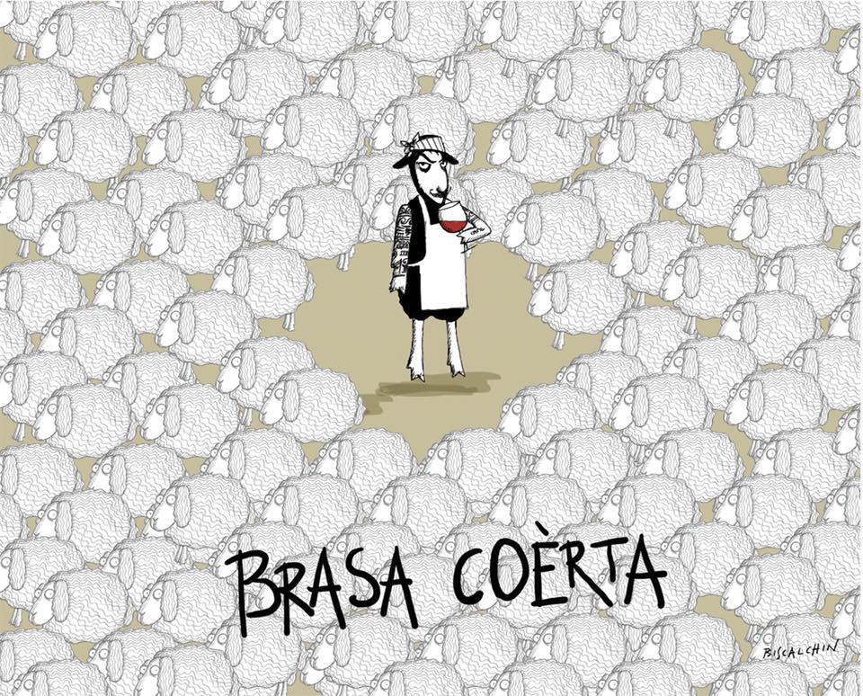 brasa coerta vino naturale pasqua etichetta biscalchin