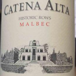 Catena Alta Historic Rows 2014 Catena Zapata