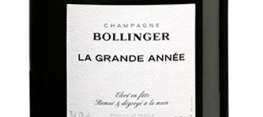 Champagne La Grande Année 2012 Bollinger