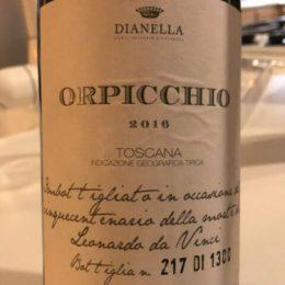 Orpicchio 2016 Dianella
