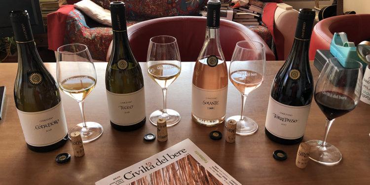 Codice Vino linea Oro, 4 gioielli dalla Cantina boutique di Citra