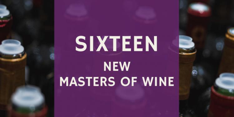 Nominati i 16 nuovi Masters of Wine