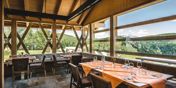 Quattro ristoranti di montagna dove la cucina è all'altezza del panorama