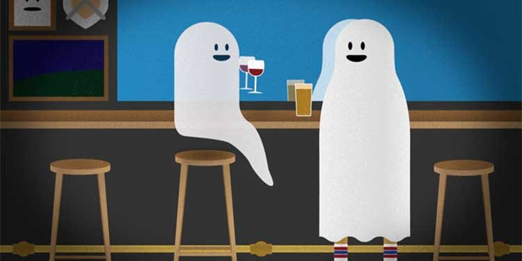 Hallowine: bar, pub ed etichette stregate