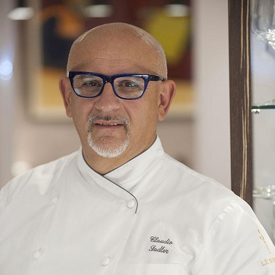 Lo chef Claudio Sadler, 1 stella Michelin