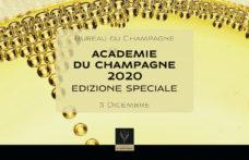 Il 3 dicembre torna (in streaming) l'Académie du Champagne