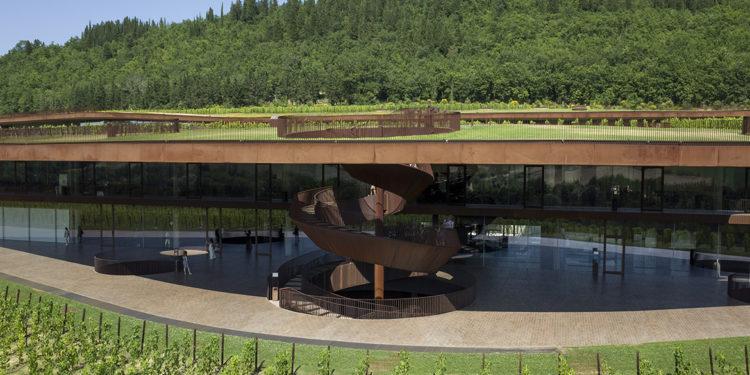 Architetture del vino: Antinori nel Chianti Classico
