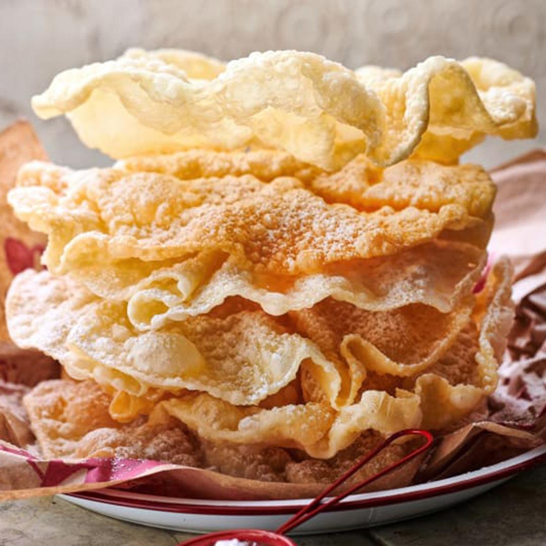 biscotti sul ginocchio - dolci tipici del famoso Carnevale di Lucerna