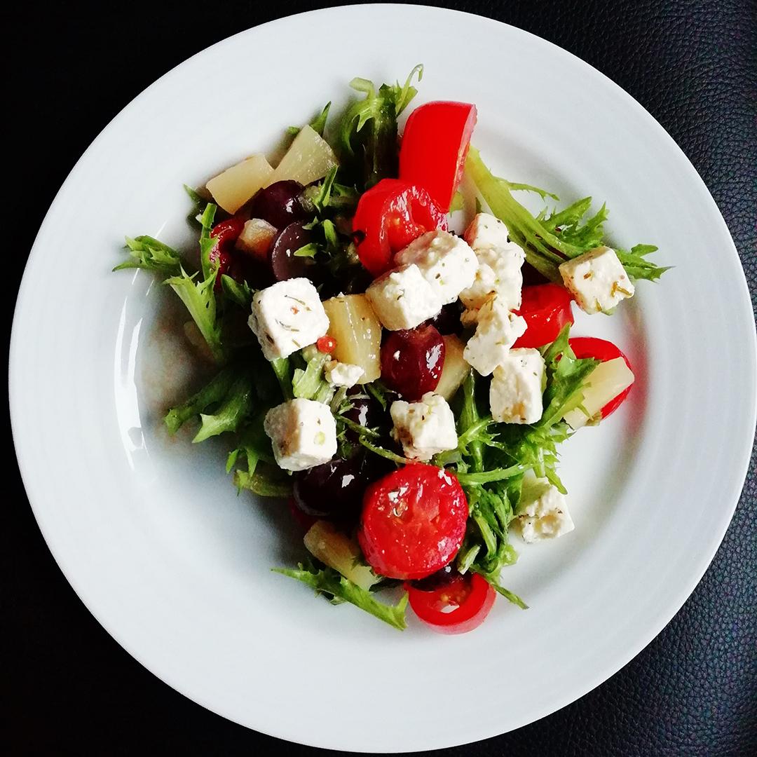 Insalata greca - abbinamento cibo vino