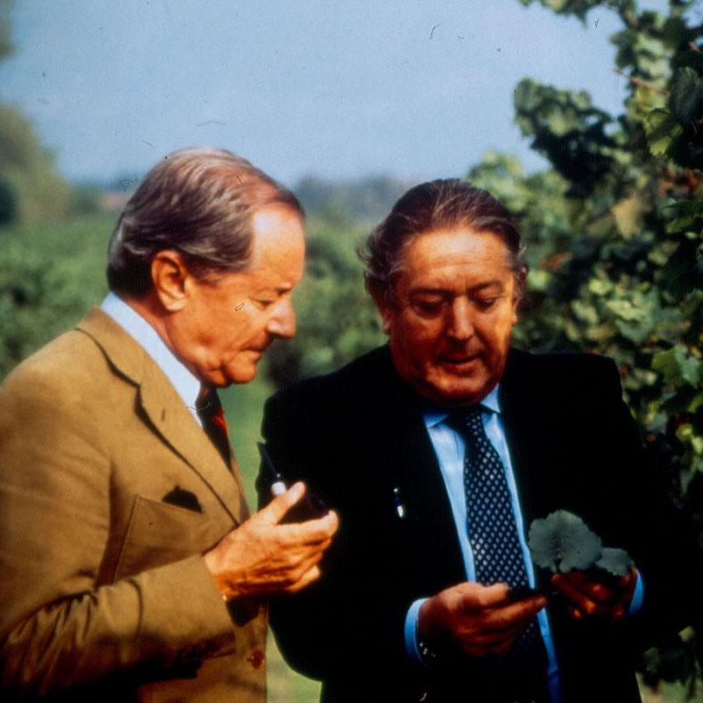 Guido Berlucchi e Franco Ziliani nel 1975